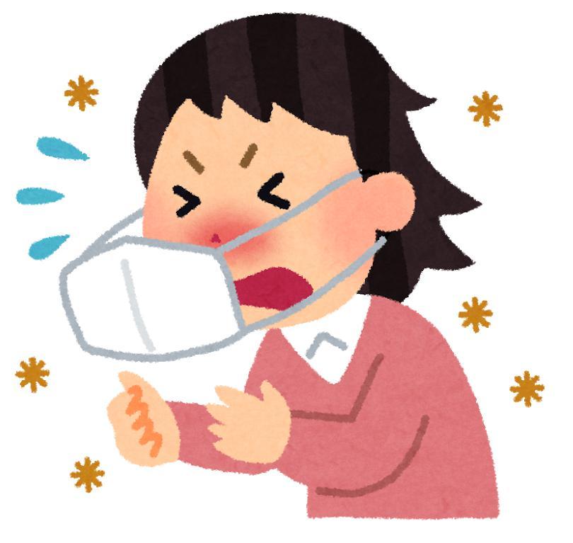 マスクをしたままくしゃみをすると臭い!その原因・理由と解決法とは?