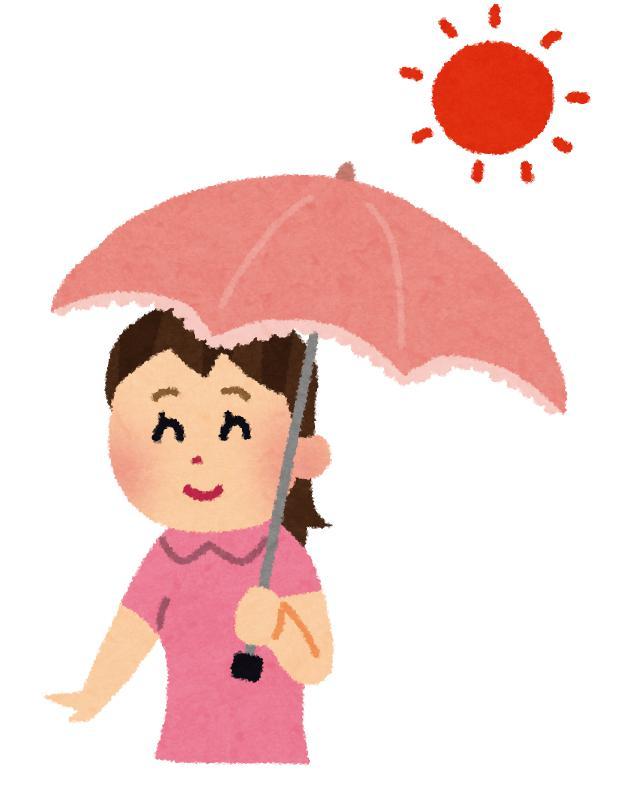 日傘はいつから使う?いつまでさす?時期的には何月なら変に思われないのか