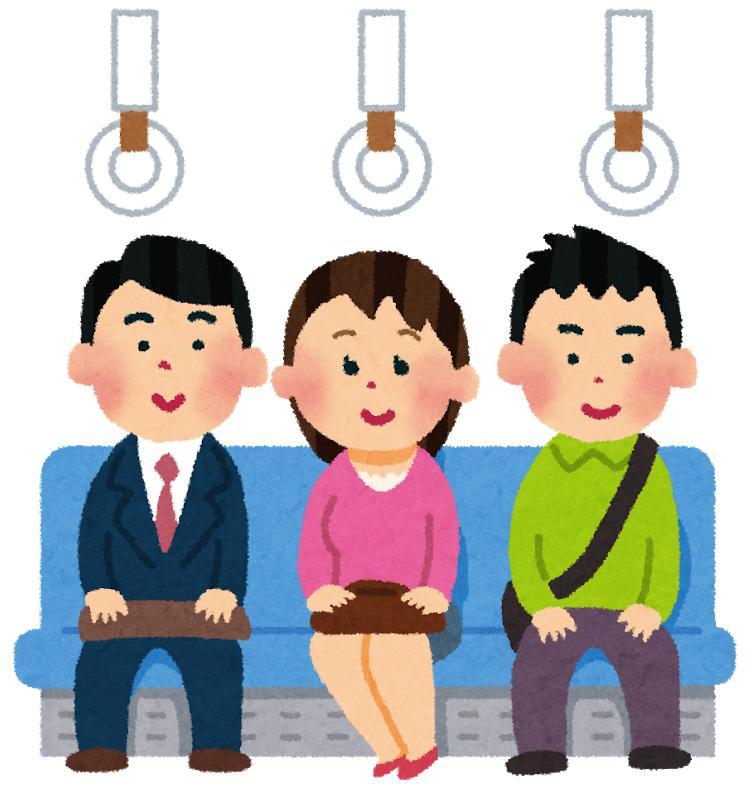 電車で居眠りして寄りかかる人への4つの対処法!NG対応にはご注意を