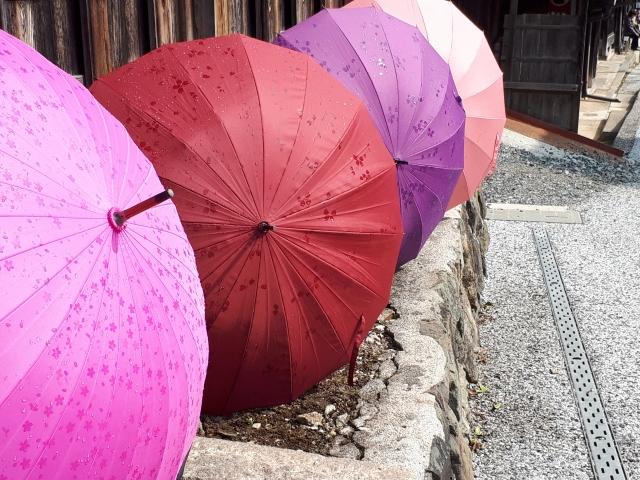 普通の傘は日傘代わりとして代用可能?日傘との違いとは一体